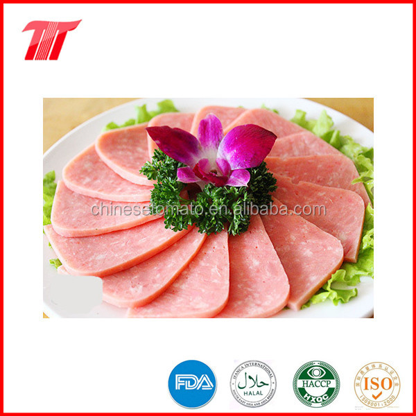 Organic and health canned luncheon meat from big manufacturer