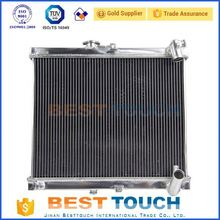 Customized water cooling all aluminum car radiator for fiat