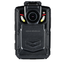 Body Camera with GPS tracking and live streaming via 4G Wifi