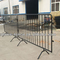 Barrier fence metal picketed