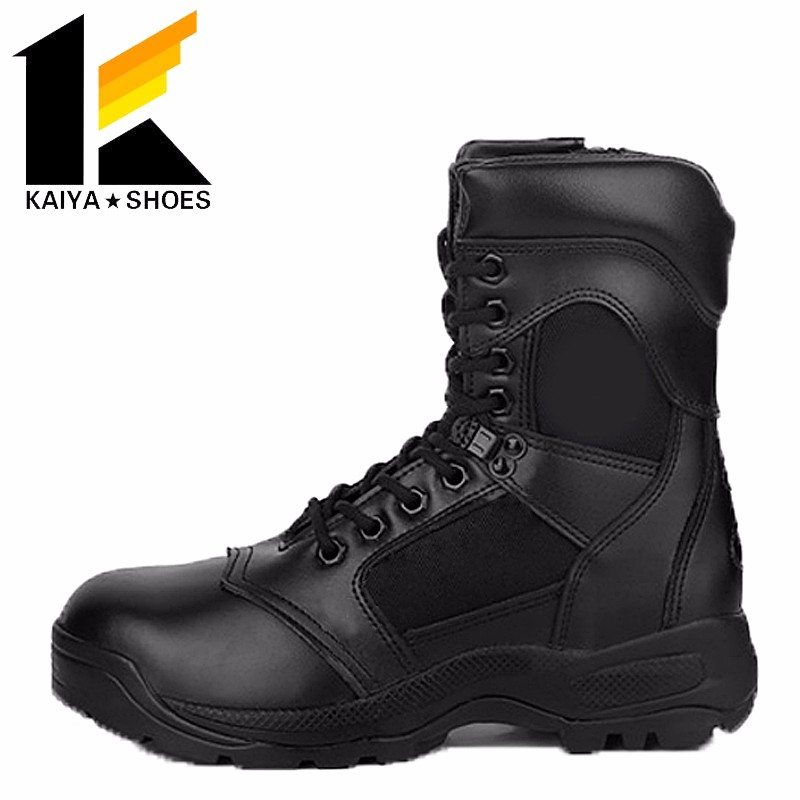 Panama rubber sole wet condition police uniform tactical jungle boots