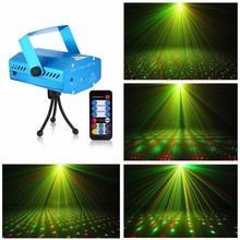 Red & Green RG LED Super Mini Projector DJ Disco Laser Lighting Stage Light Party Show
