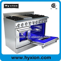 Tho kitchen 48 gas range with grill