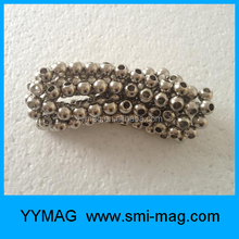 High quality magnetic bead for bracelets