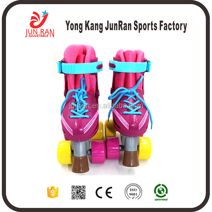 2017 Most Popular sponge Lining Material quad roller skate wheel manufactured in China