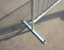Galvanized pedestrian control barriers,guardrails for events,queue control barrier