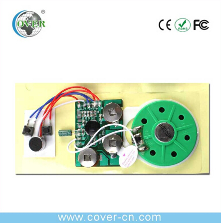 video greeting card voice recorder module