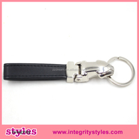 Hot selling stainless steel fashion leatherJaguar keychain