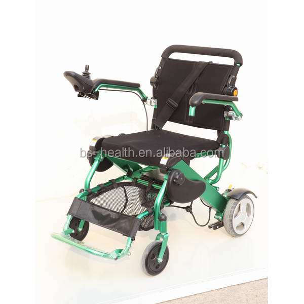 Rehabilitation Therapy Supplies Physical Therapy foldable Power Wheelchair