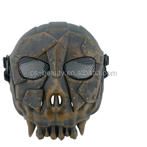 Multi Color Hunting Costume Party Training Tactical Military Skull Skeleton Full Face Mask