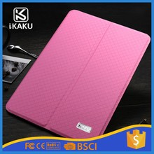 Kaku 2 foldable both sides tablet protective transformer smart flip pc +pu leather cover case for ipad mini