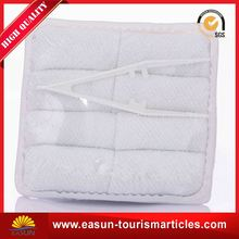 airline hand towel cotton wet towel terry airline towels on board