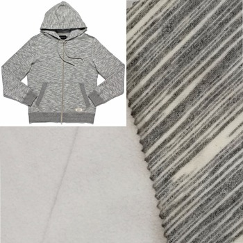 TC polyester interlock polar fleece fabric for sweatshirt