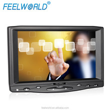 "Feelworld 7"" Widescreen 16:9 HDMI Monitor, Resistive Touch Screen, 450 cd/m2 Brightness"