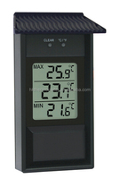2015 Electronic Popular House Shape Outdoor Min Max Thermometer