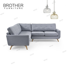New lifestyle Living room Furniture L Shape Fancy Fabric Sofa