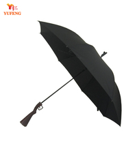 Black Gun Shaped Umbrella for Men