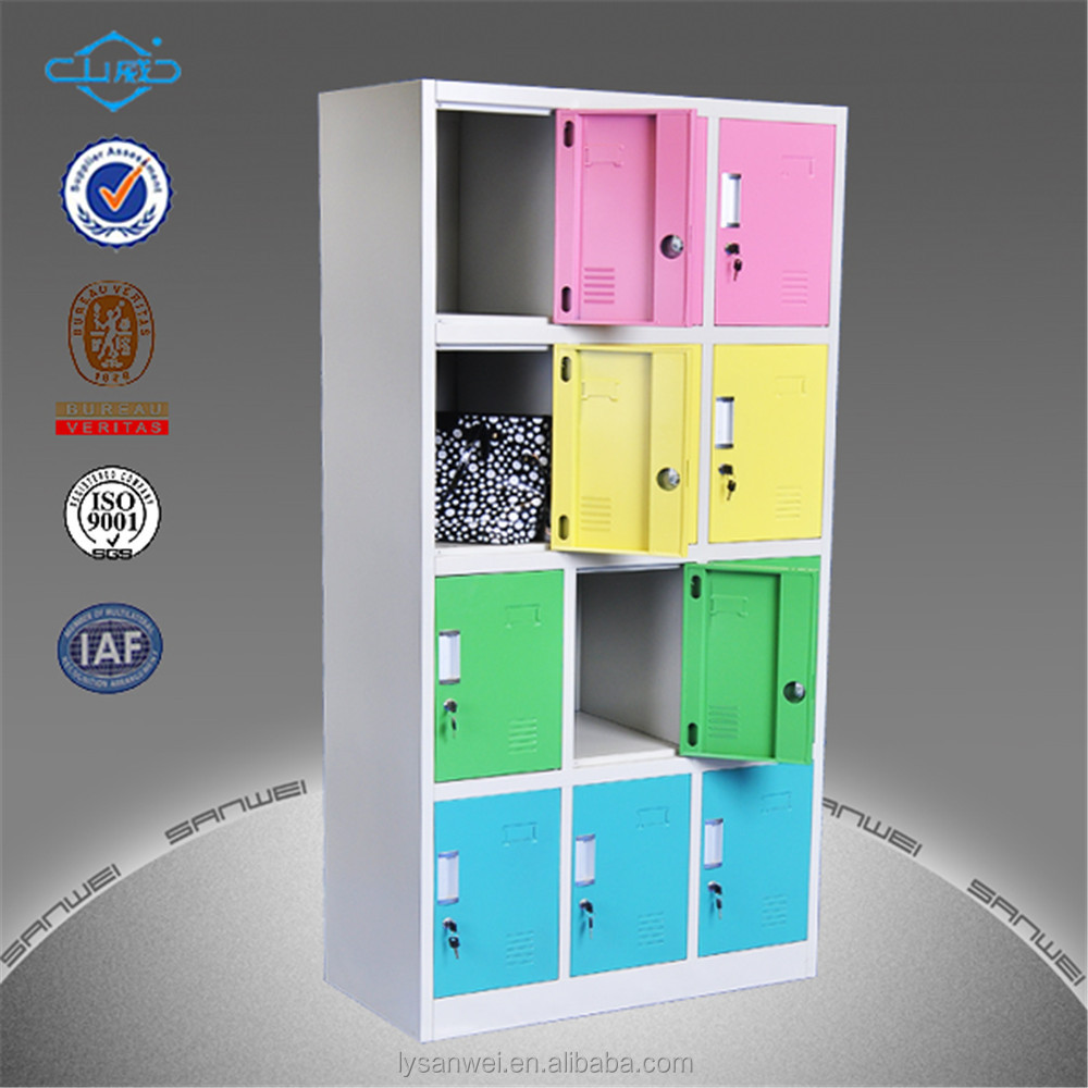 hot selling 12 door staionary teacher locker from china