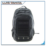 Black 1680D Solar Charger Energy Bag,Solar bag for laptop and mobile phones