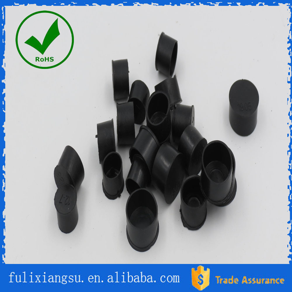 Engineering machine anti vibration damper rubber mounting foot