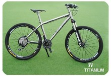 "high speed bicycle complete 26"" titanium mountain bike LED"