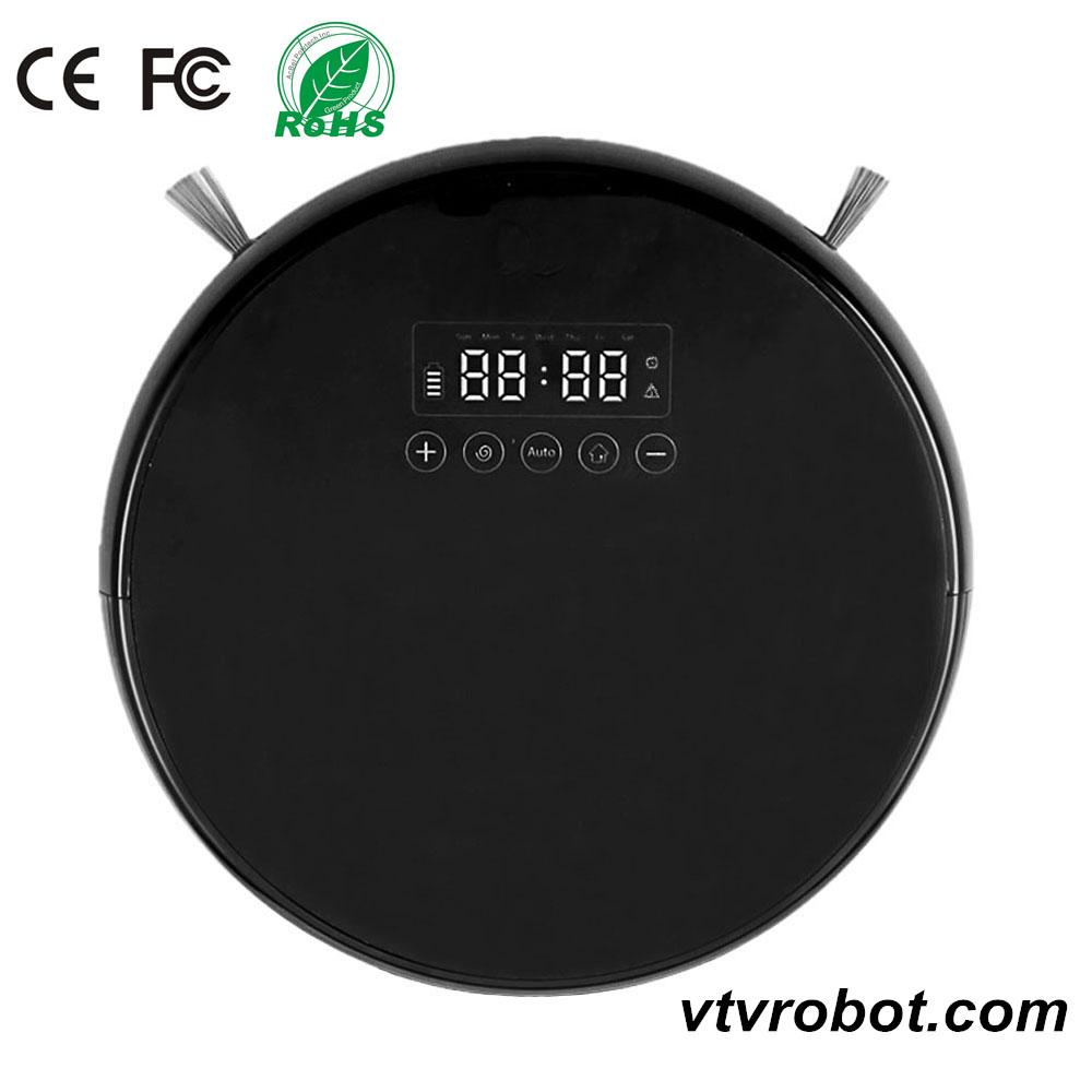 Robotic Vacuum Cleaner Automatic Floor Cleaner Robot Sweeper with Self Charging