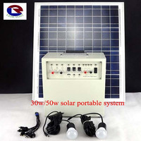 Low price small portable solar power system 30W