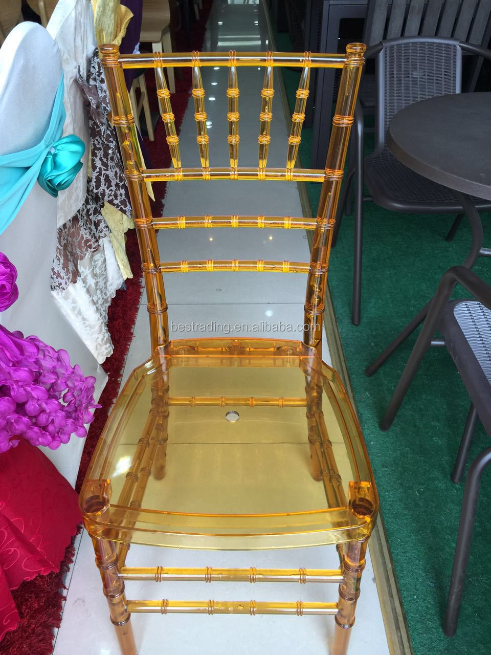 hot sale hotel banquet resin wedding chiavari chair for event party