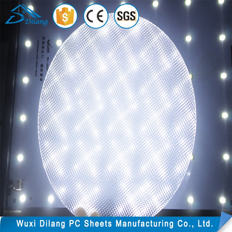 Professional one way lamp shade plastic sheet