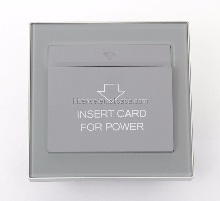 RF Insert Card Power Switch Hotel Energy Saving Switch