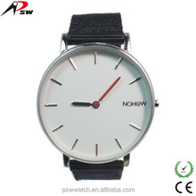 big face two simple needles VJ20 quartz movt nylon strap gift watch for men