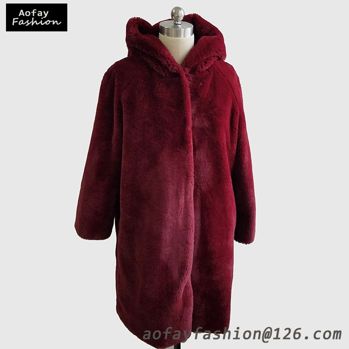 Women Coats Winter 2016 Real Colored Knitted Mink Fur Coat