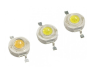 Super Bright 120-130lm White 1W LED with High Power(CE RoHS Compliant)