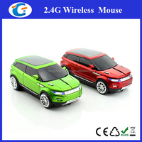 Computer Accessories 2.4Ghz Wireless Car Mouse for Giveaways