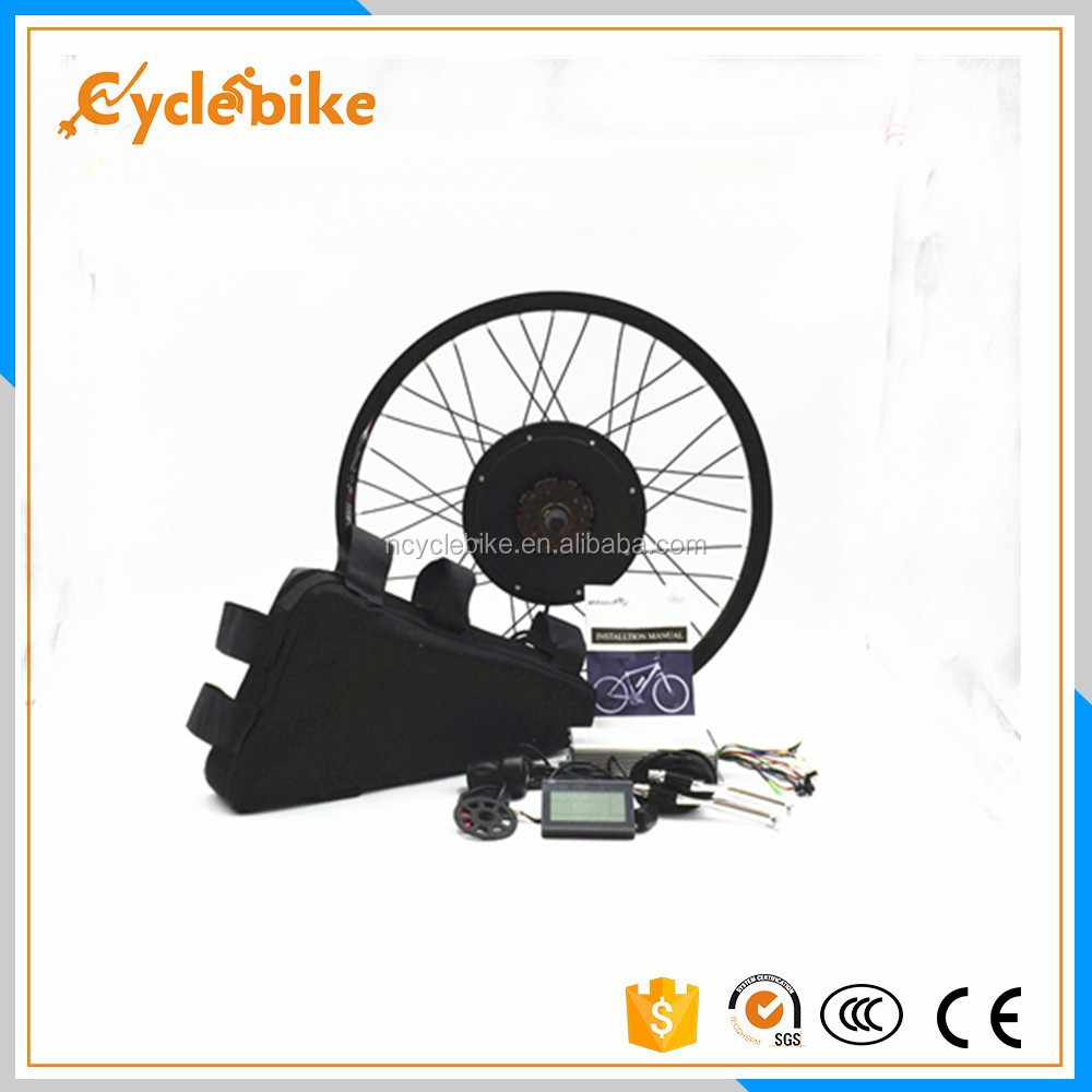 High quality 16-28inch 48v electric bike rear wheel conversion kit 1000w