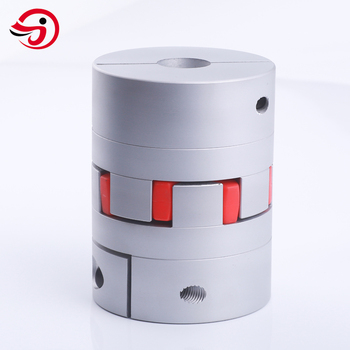 Flexible shaft coupling jaw coupling similar standard as KTR