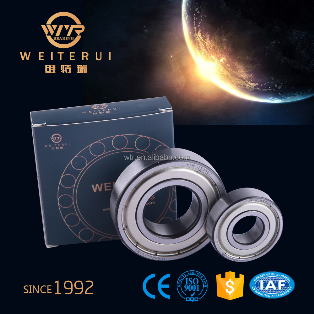 Deep Groove Ball Bearing 6202 ZZ For Ceiling Fan