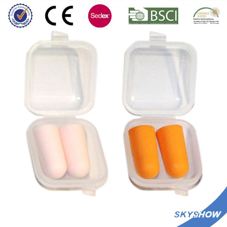 China Gold Supplier Discount sleeping cylinder shape foam pu earplug