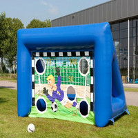 Hola game inflatable football goal for sale