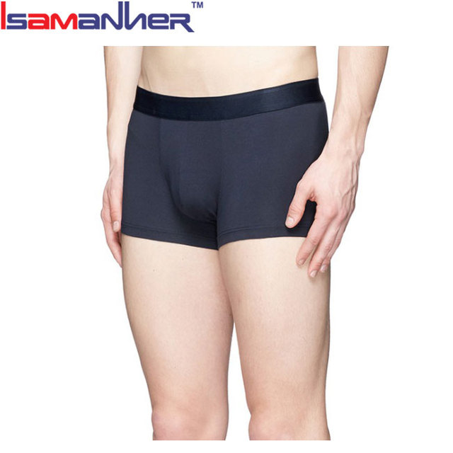 China factory wholesale cotton boxer shorts model mens underwear sexy