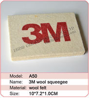 3M wool squeegee soft scraper that not damage the foil