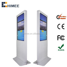 42 inch lcd panel digital signage Totem touch all in one computer