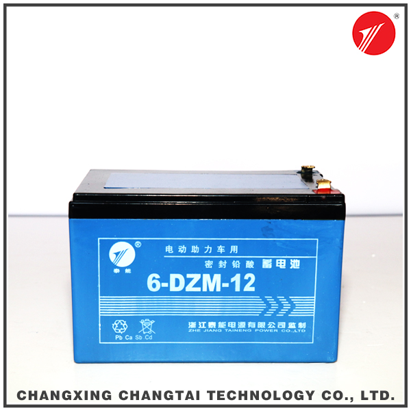 Rechargeable sealed lead acid 12v storage battery