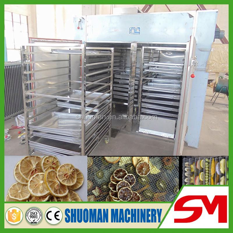 High capacity commercial cassava chip drying machine