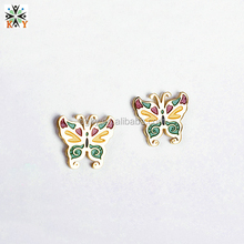 2014 Hot and Fashionable Big Dangle Butterfly Earrings