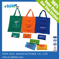 China wholesale fold up reusable shopping bags