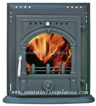 classic cast iron fireplace insert stove(JD004)