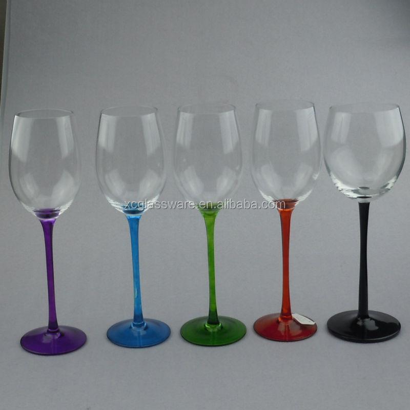 Wholesale Glassware Manufacture Custom Smoke Gray Colored