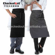 Fashion cooking apron kitchen promotion apron chef garments apron set
