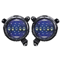new product 130w 7inch halo ring led headlight for jeep wrangler jl